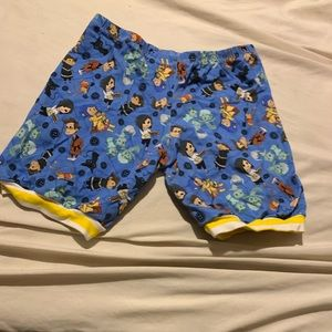 Other - Coralline fabric shorts